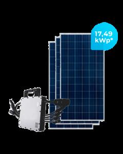 GERADOR DE ENERGIA HOYMILES 17,49 kWp
