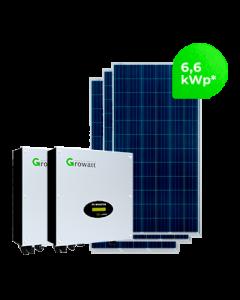 GERADOR DE ENERGIA GROWATT 6,6 kWp