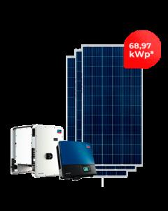GERADOR DE ENERGIA SMA 68,97kWp