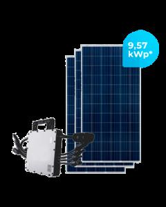 GERADOR DE ENERGIA HOYMILES 9,57 kWp