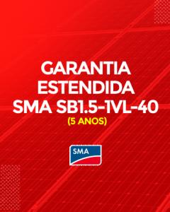 Garantia Estendida SMA SB1.5-1-VL-40 5 anos