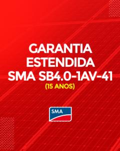 Garantia Estendida SMA SB 4.0- 1AV-41 15 anos