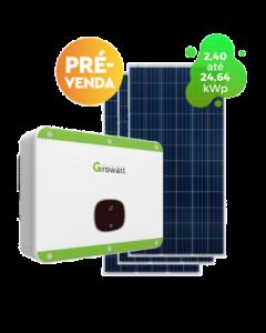 GERADOR DE ENERGIA GROWATT 24,30kWp