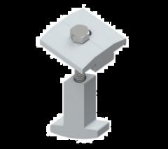 KIT FIXAÇÃO P/ TELHADO METÁLICO C/ MINI PERFIL 0,50 m (Previsto a partir de 10/03/2021)